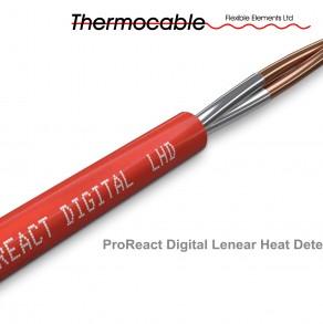 Линейный тепловой (термокабель) пожарный извещатель ProReact